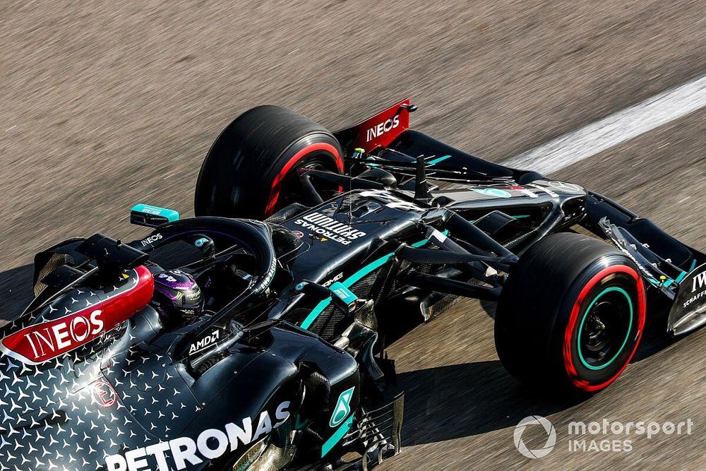 俄罗斯大奖赛FP3:汉密尔顿登上头名,领先博塔斯多达0.7秒