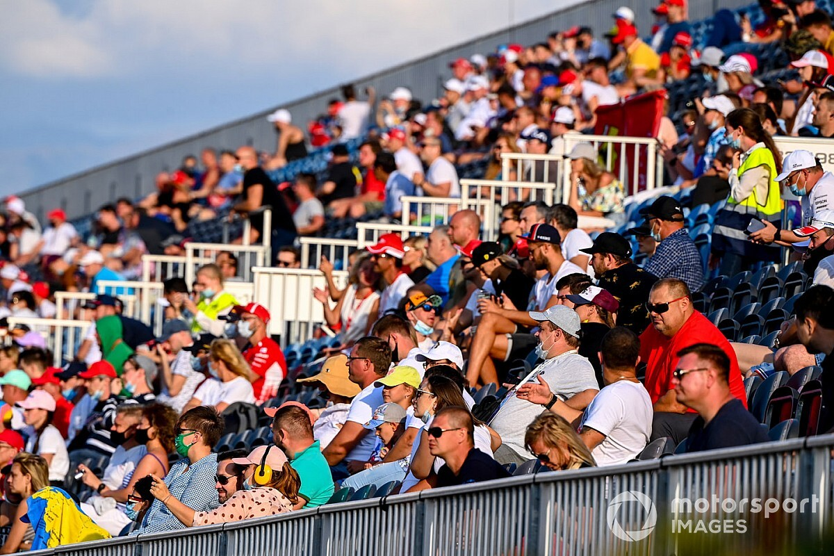 Rise in F1 COVID cases not linked to fans attending Russian GP