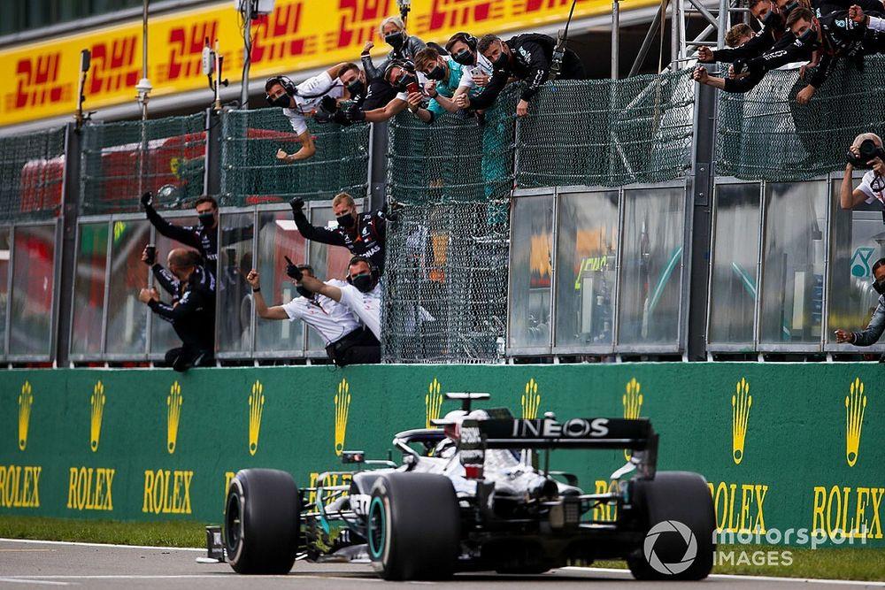 GP de Bélgica F1: Hamilton arrasa y acaricia el récord de Schumacher