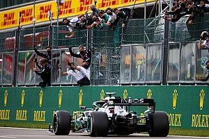 F1ベルギーGP決勝:ハミルトン、タイヤに苦しみながらも今季5勝目。フェルスタッペンは3位