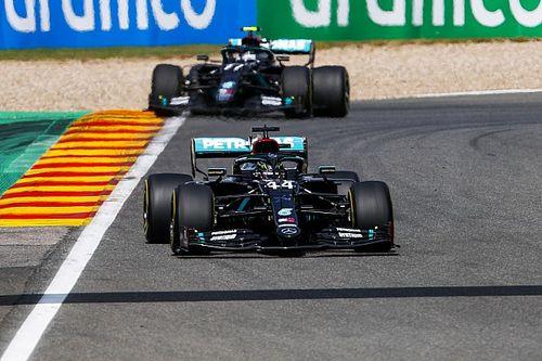 Mercedes verklaart miscommunicatie met Bottas over overtake modus
