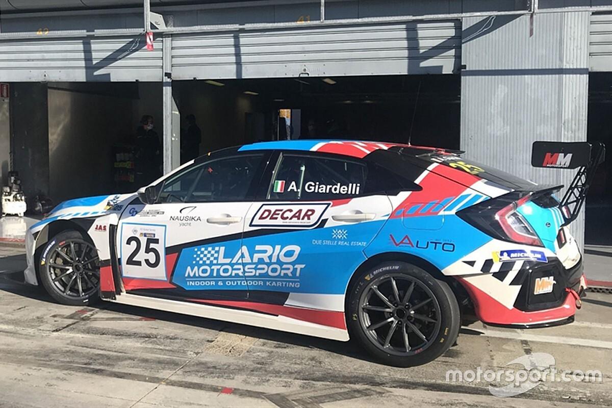 TCR Italy: Giardelli svetta con la Honda nei test di Monza