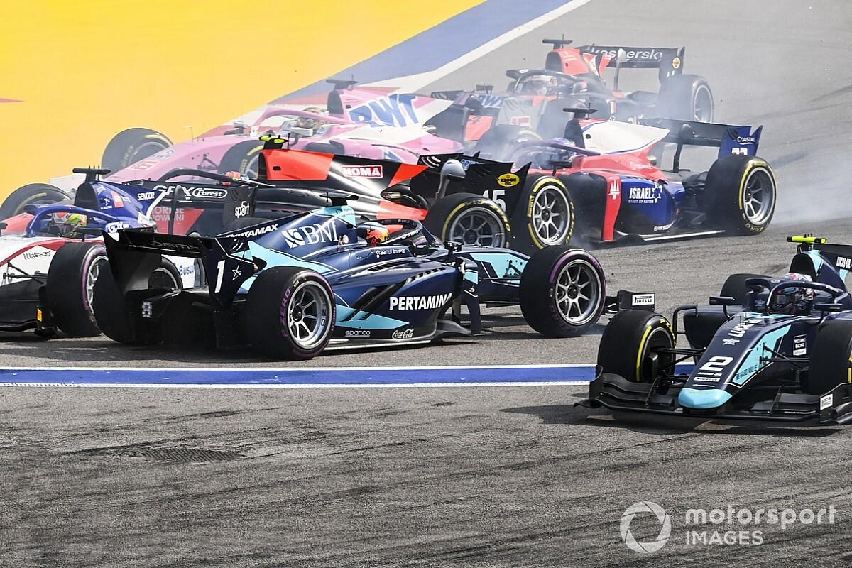 Положение в общем зачете Формулы 2 после уик-энда в Сочи