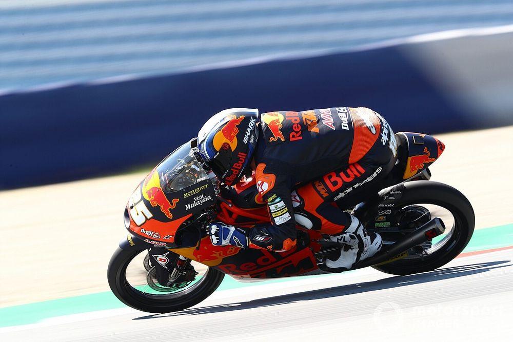 Moto3, Misano, Libere 1: Fernandez parte bene, Vietti quinto