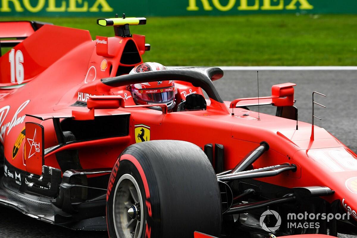 Leclerc Diz Que Nao Espera Milagres Da Ferrari Em Spa