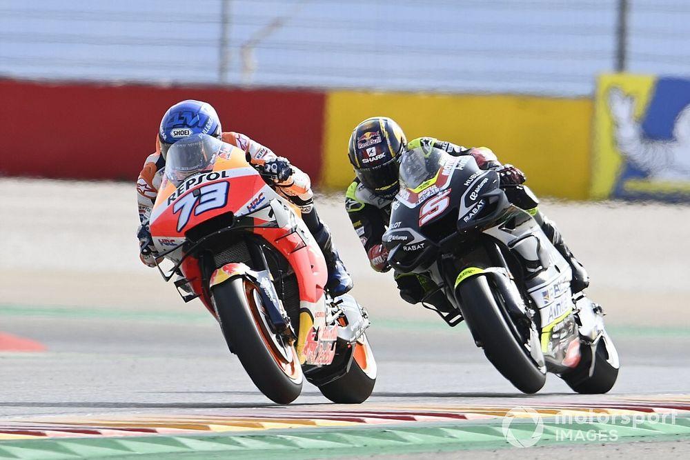 """Marquez laat steek vallen in Teruel GP: """"Moet hiervan leren"""""""
