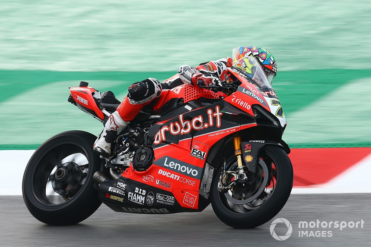 Barcelona WSBK: Ducati's Davies claims first victory of 2020 - Motorsport