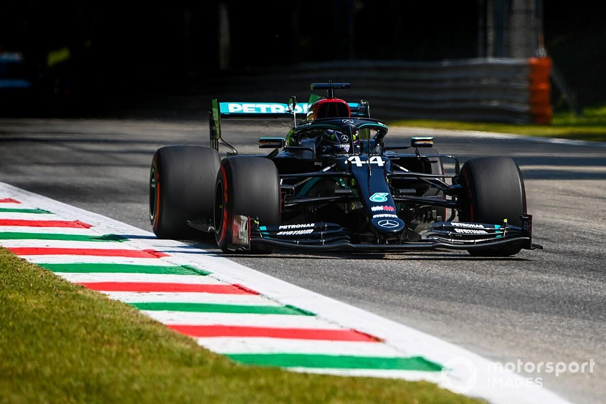"""Hamilton: """"Immagino già il caos all'ultima curva domani..."""""""