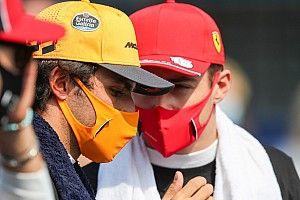 Sainz, Leclerc'le yarışmak için sabırsızlanıyor