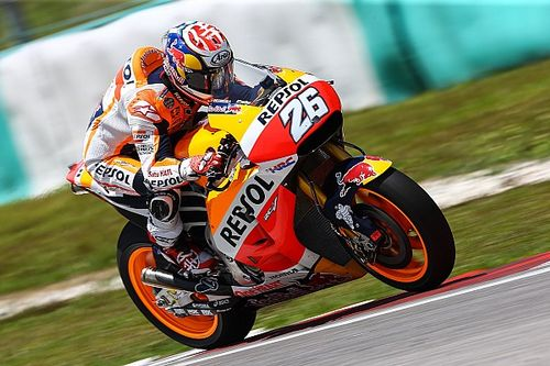 """Pedrosa says there was """"almost no grip"""" on rear Michelin"""