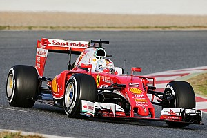 Formula 1 Testing report Vettel keeps Ferrari on top in ultra-soft tyre dogfight