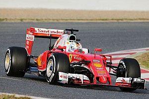 Vettel keeps Ferrari on top in ultra-soft tyre dogfight