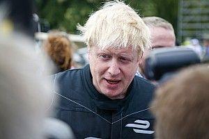 Quand Boris Johnson pilotait une Formule E