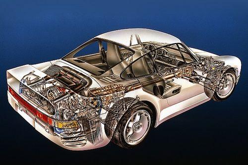 Cutaway classic: Explore the amazing Porsche 959