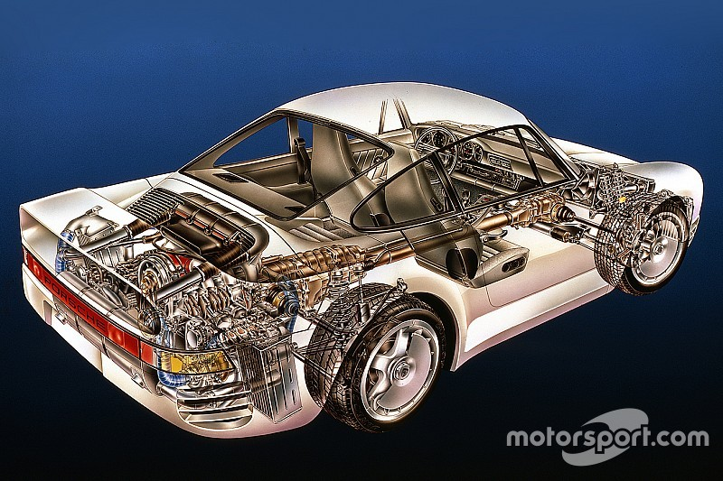 Cutaway classic: Explore the amazing Porsche 959