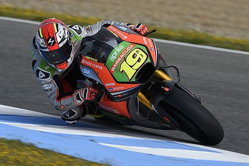 Spanish GP: Aprilia is on the track with the first upgrades