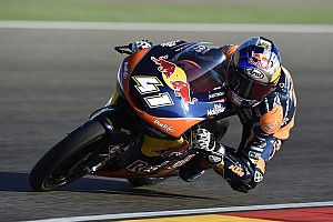 Moto3 Race report Aragon Moto3: Binder seals title with four rounds to spare