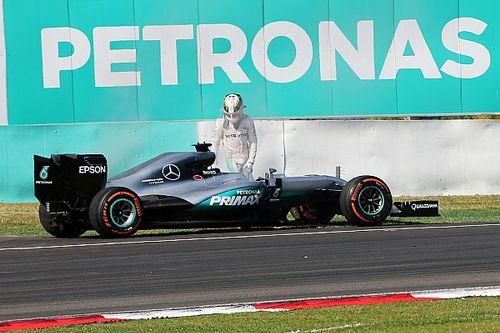 Mercedes still investigating Hamilton's engine failure
