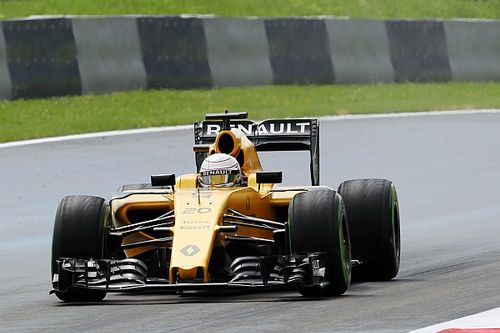 No more than a red flag-affected Q1 session for Renault