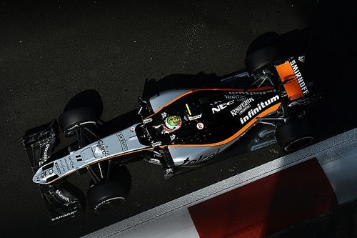 Force India reveals three-driver Barcelona F1 test line-up