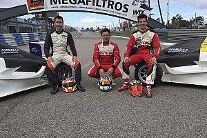Rossi, Guerrieri y Milla probaron los Fórmula 4 Sudamericana