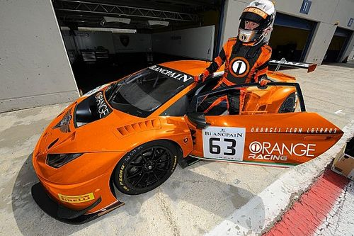 Thomas Biagi sbarca in GT Open con l'Orange1 Team Lazarus