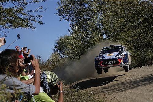 Arjantin WRC: Neuville 0.7 sn farkla Evans'ı mağlup etti!
