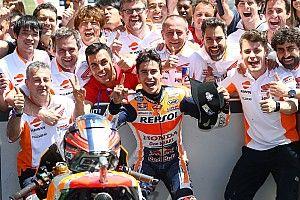 """Márquez: """"Rossi es el más consistente, merece un gran respeto"""""""