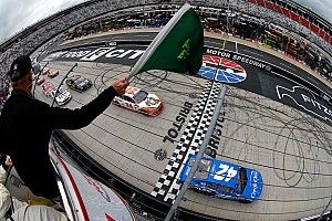 Larson put on a show at Bristol, but victory eluded him