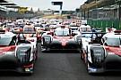 VIDEO: Así se prepara la foto grupal de coches en Le Mans