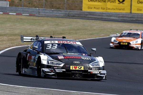 DTM Отчет о гонке Раст победил во второй гонке DTM на «Хунгароринге»