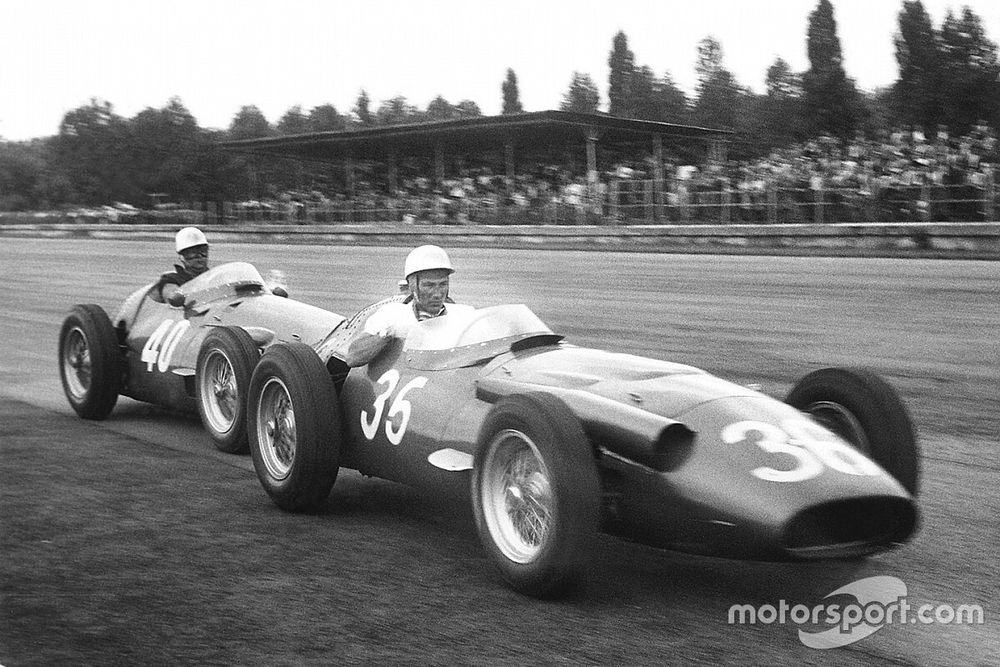 An evening driving lesson with Sir Stirling Moss