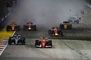 Formel 1 2017 in Singapur: Das Rennergebnis in Bildern