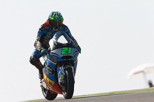Warm-up GP Aragon: Morbidelli topt bij wegtrekken mistflarden