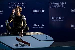 Formule E Réactions Vergne :