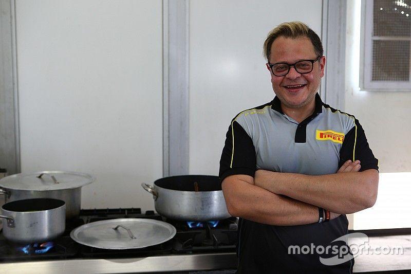 Mi trabajo en la F1... Chef de hospitality