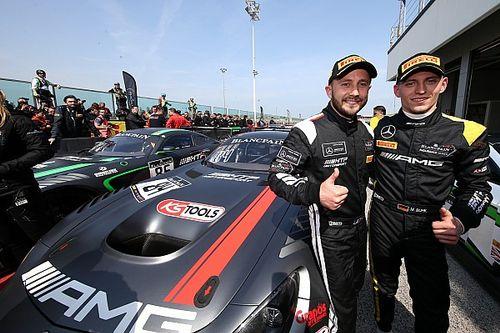 Buhk en Perera winnen eerste race van Blancpain Sprint-finale