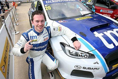 Rockingham BTCC: Cole claims surprise maiden pole