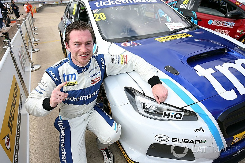 Rockingham BTCC: Cole takes first win, leads Subaru 1-2