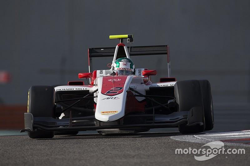 Fukuzumi leads ART 1-2-3 in Day 1 of GP3 testing