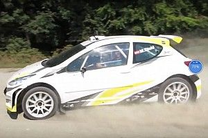 Video, primi passi per la rallycar elettrica di Manfred Stohl