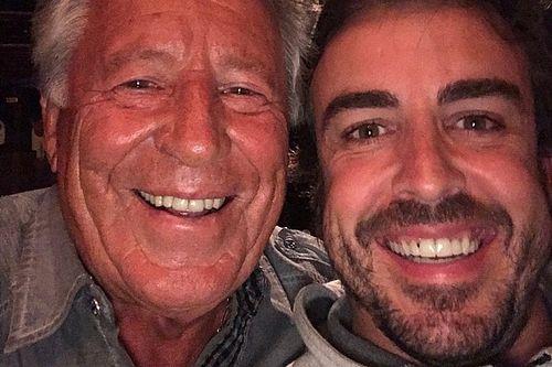 Jantar com Mario, elogio de Marco: início de Alonso em Indy