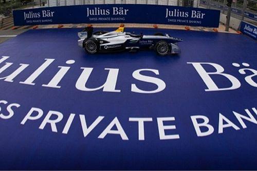 Julius Bär Bank sponsor principal du premier ePrix historique de Zurich !