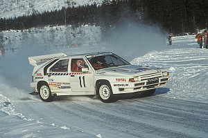 WRC Special feature Watch WRC's Group B cars in action in Rally Sweden 1986