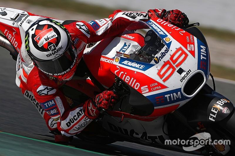 Lorenzo: Layout baru Catalunya dibuat untuk Honda