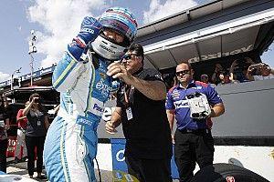 【インディカー】PPの佐藤琢磨、直前までマシン調整「チームに感謝」