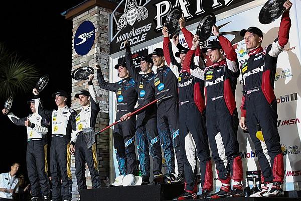 IMSA Irmãos Taylor vencem 12 Horas de Sebring; Fittipaldi é 2º