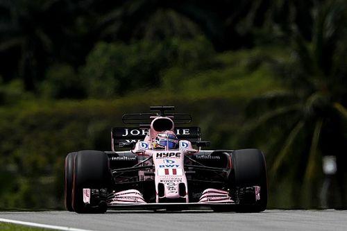 Pérez se califica en Q3 en Malasia a pesar de estar enfermo