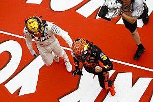 """Hamilton geeft toe: """"Max was gewoon sneller"""""""