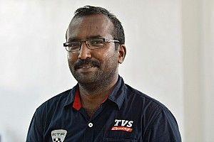 My job in racing... Senior Technician in TVS Racing